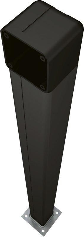 CAME Standsäule für Unterputzschalter, schwarz