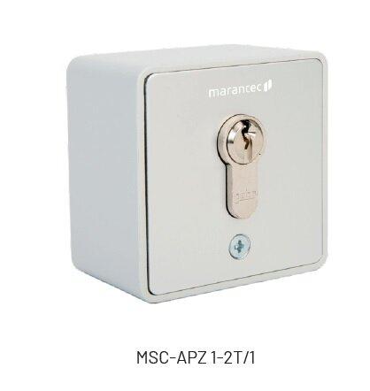 Marantec MSC-APZ 1-2T/1 Schlüsselschalter für Aufputz-Montage
