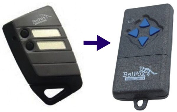 BelFox DHS433-02 Handsender 2-Kanal 433 MHz