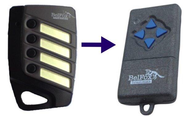 BelFox DHS40-04 Handsender 4-Kanal 40 MHz