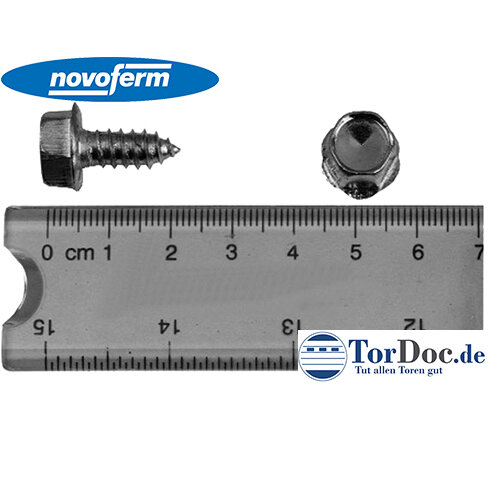 Blechschraube für Garagentor Novoferm, Siebau, Graf, 6,3 x 13 mm