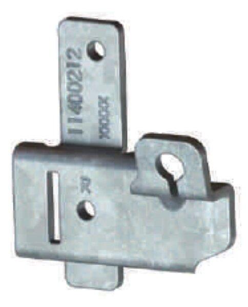 Novoferm Seilaufnahme rechts ISO 20, ISO 45