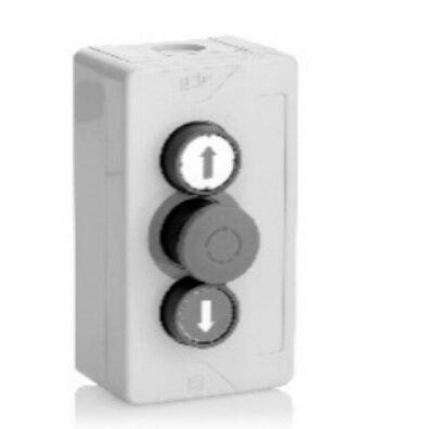 Teckentrup 3-fach Drucktaster Auf-Halt-Zu