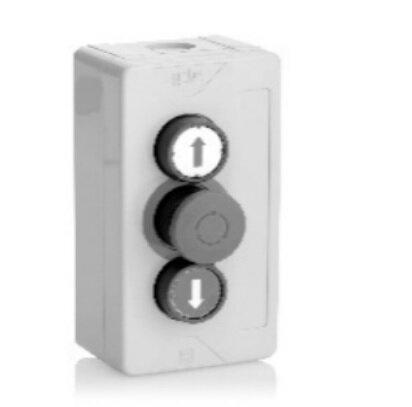Teckentrup 3-fach Drucktaster mit Not-Stopp Schlagpilz