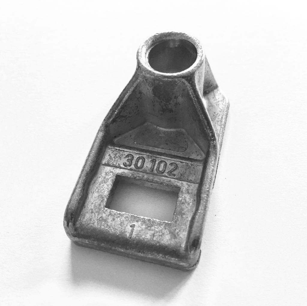 Laufrollenhalter Mitte S 40 / iso 40, Novoferm, Siebau