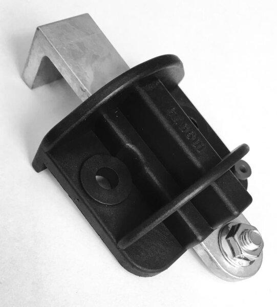 Teckentrup Riegel vormontiert in Riegelhalter incl. Feder
