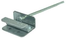Teckentrup Feder Verbindungswinkel 4-fach Verbindungssystem