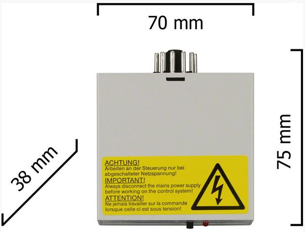 Dickert E13-27A100 Funkempfänger 1 Kanal 27 MHz AM 230 V