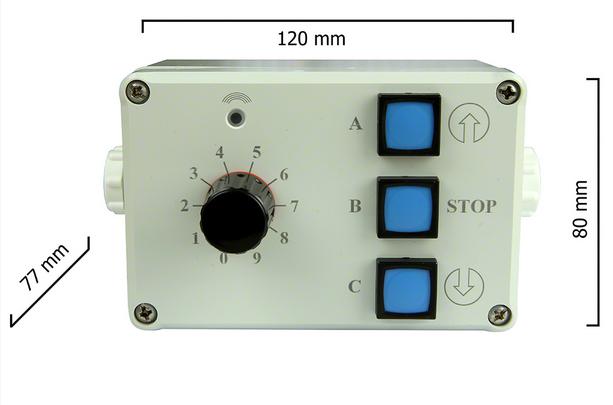 Dickert IAMS40-00 Industriesender LinearCode 30 Kanal 27 MHz AM