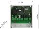 Dickert EXL-433A400 Funkempfänger 230V 4 Kanal 433 MHz AM