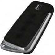 Teckentrup SH4-D BK schwarz Handsender, 4 Tasten, 868 MHz