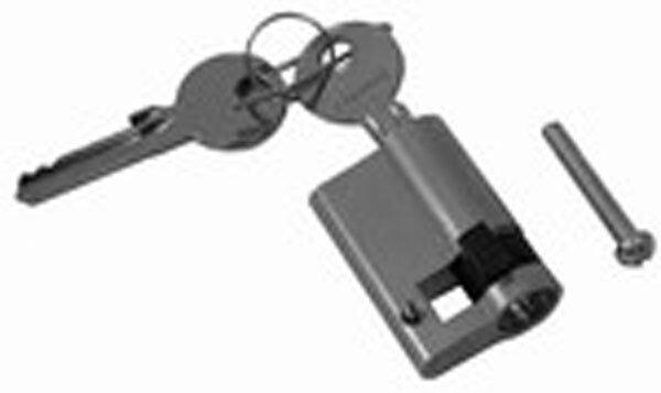 Profilhalbzylinder, 60,5 mm für Tore und Türen, mit Schlüssel