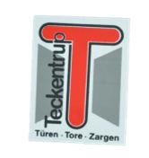 Teckentrup Labelträger mit verwendet ab Mai 2012