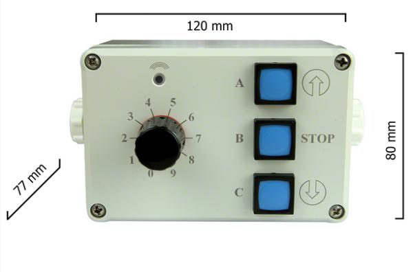 Dickert IS-433A30-00 Handsender LinearCode 30 Kanal 433...