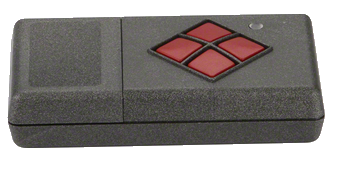 Dickert S20-433A4L00 Handsender LinearCode 4 Kanal 433 MHz AM