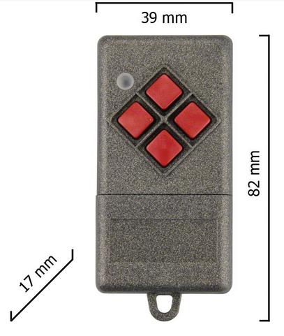 Dickert S10-433A1L00 Handsender LinearCode 1 Kanal 433...