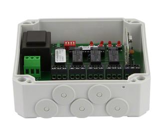 Dickert E15-868A100 Empfänger 12Bit, 18Bit oder KeeLoq 868 MHz