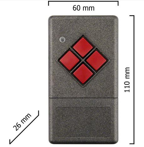 Dickert S20-868A1L00 Handsender LinearCode 1 Kanal 868 MHz