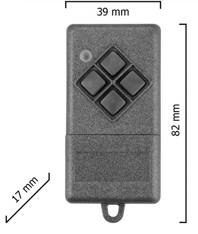 Dickert S10-868A1K00 Handsender KeeLoq 1 Kanal 868 MHz