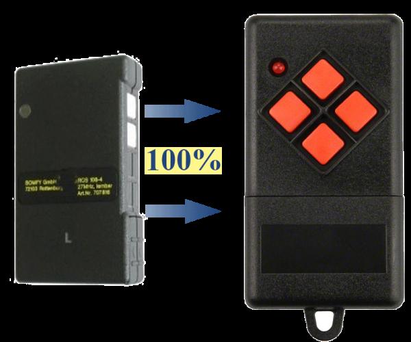 Somfy S425-426-2 27.015 MHz Handsender Ersatz