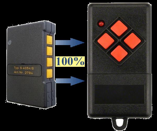 Alltronik S405-4 40,685 MHz Handsender Ersatz