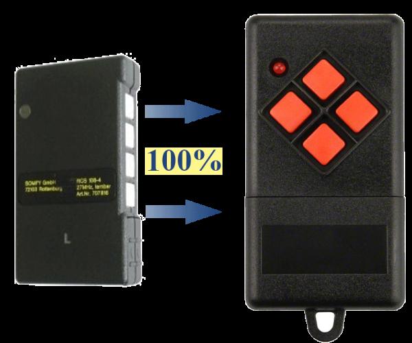 Somfy S425-426-4 40.685 MHz Handsender Ersatz