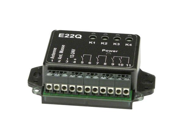 Dickert E22Q-868A400 Mini Funkempfänger, 4 Kanal...