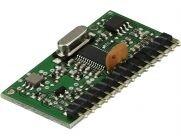 Dickert HQAM868-67 Funkmodul, 868,5 MHz AM Schmalband, 15p abgewinkelte SL