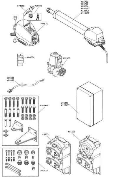 Marantec Spindeleinheit für Comfort 516
