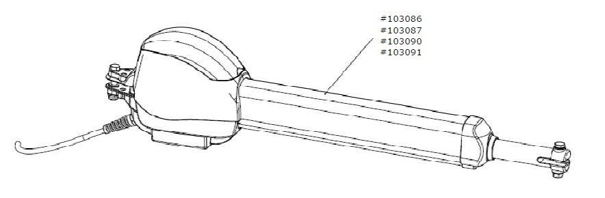 Marantec Motor-Aggregat C.525 L für Steuerung Control x.52