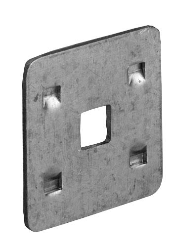 Pfullendorfer Klemmplatte für Laufschienenverbinder C34/C45 iso 20-2