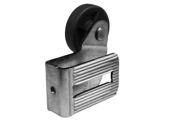 Pfullendorfer Oberer Laufrollenhalter mit Rolle rechts iso 20-2