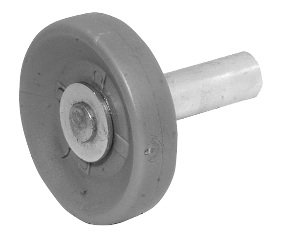 Pfullendorfer Laufrolle mit kurzer Achse (flach)