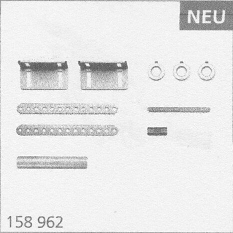 Marantec Anbausatz Achskettentrieb, Standard-Hohlwelle 25,4 mm