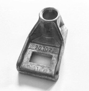 Pfullendorfer Laufrollenhalter Mitte S 40 / iso 40 / Laufrollenhalter