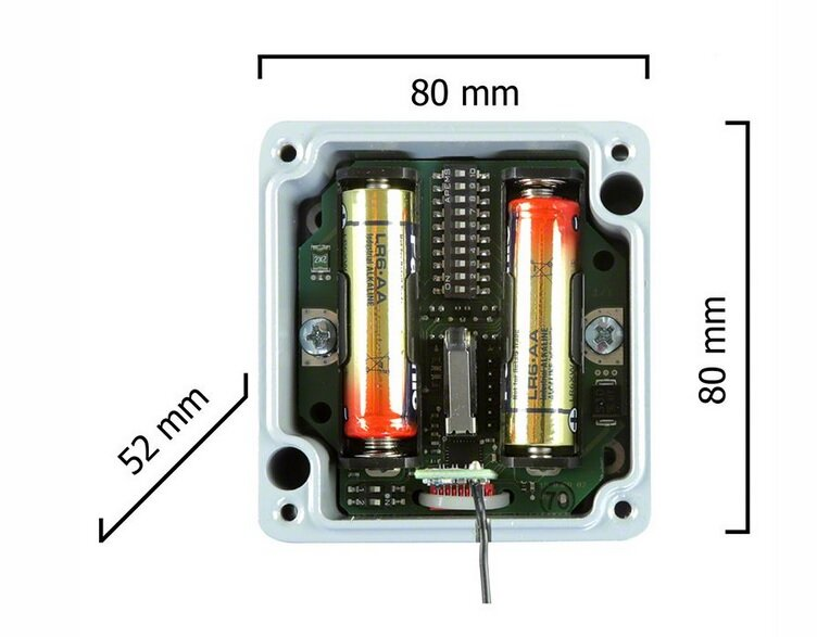 Dickert DZS25-433A1KL00, Deckenzugschalter