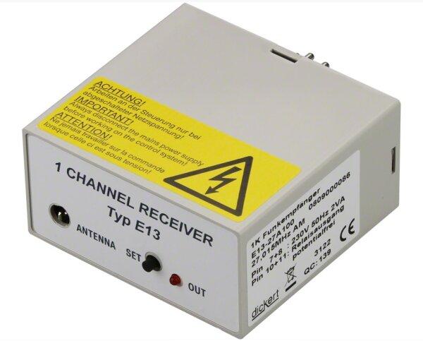Dickert E13-868A100 Funkempfänger 1 Kanal 868 MHz AM...