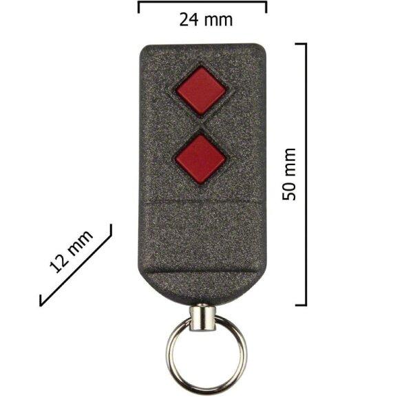 Dickert S5Q-868A2K00 Handsender, KeeLoq, 2 Kanal, 868 MHz
