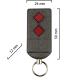Dickert S5Q-868A2L00 Handsender, Linear-Code. 2 Kanal, 868 MHz