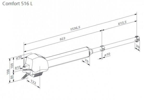 Marantec Comfort 516 L Drehtorantrieb