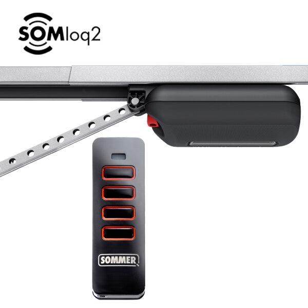 Sommer S 9110 base + Schiene + Pearl Vibe Handsender