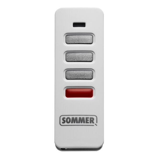 Sommer 3-Befehl Handsender Pearl Status 868MHz mit SOMloq2