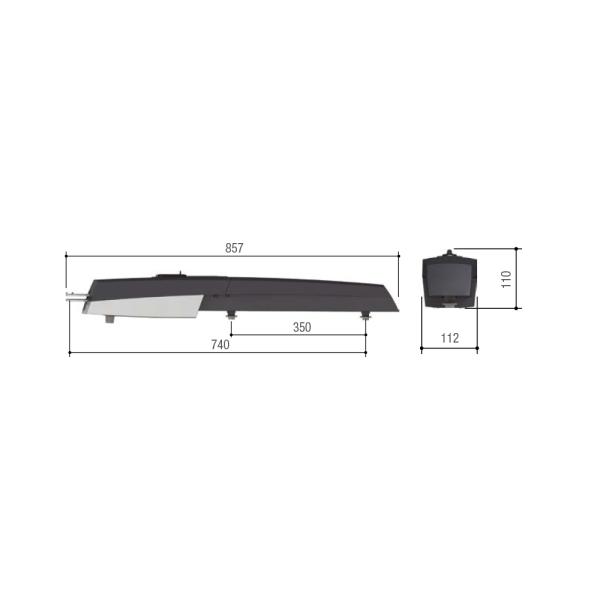 CAME AXL Drehtorantrieb 2-flügelig Set