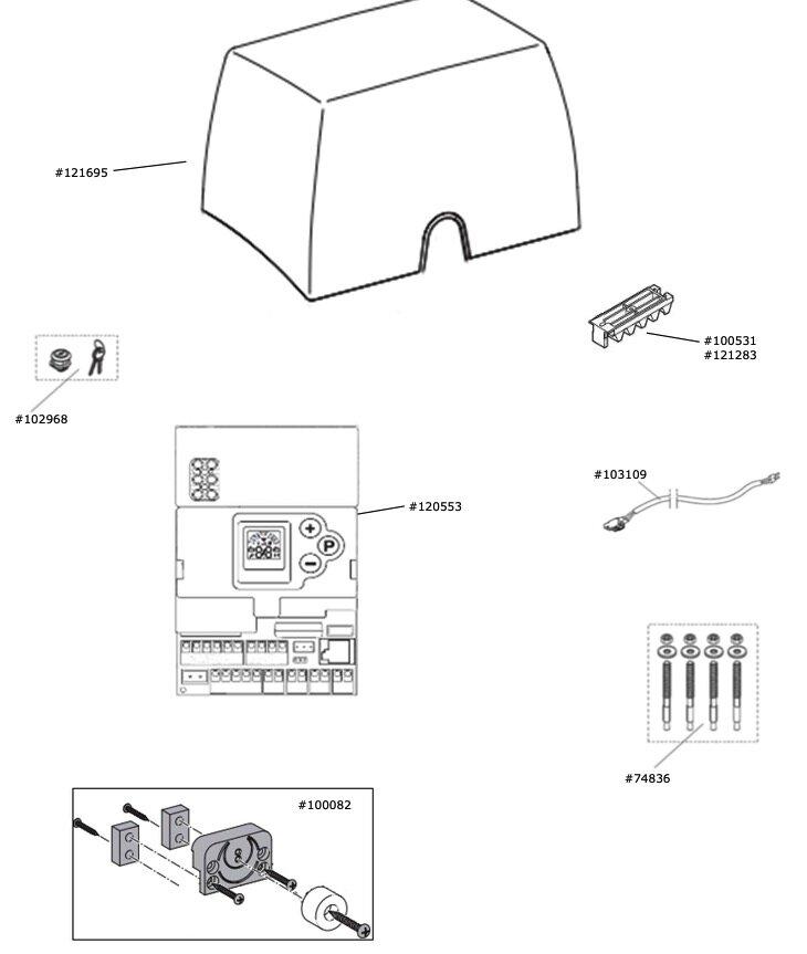 Marantec Transformator 230 V / 27,5 V / 18 V für HSTA