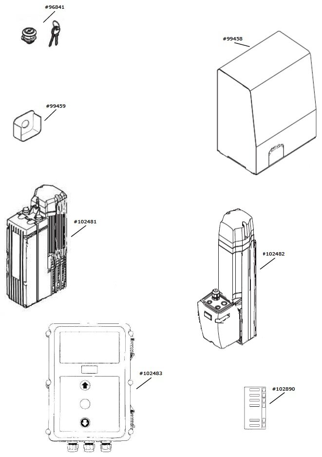 Marantec Platine AST-S für Dynamic 740 FU-S + Platine I2C