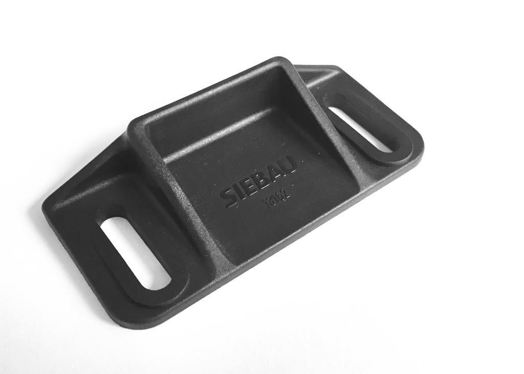 Siebau Bodenschuh 3S-1750.1.c, Kunststoff, schwarz
