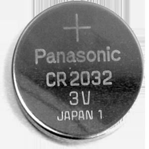 Batterie für Handsender, CR 2032, Lithium, 3V,...