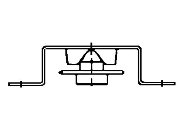 Novoferm Antriebsritzel für Rollenkette, Novomatic