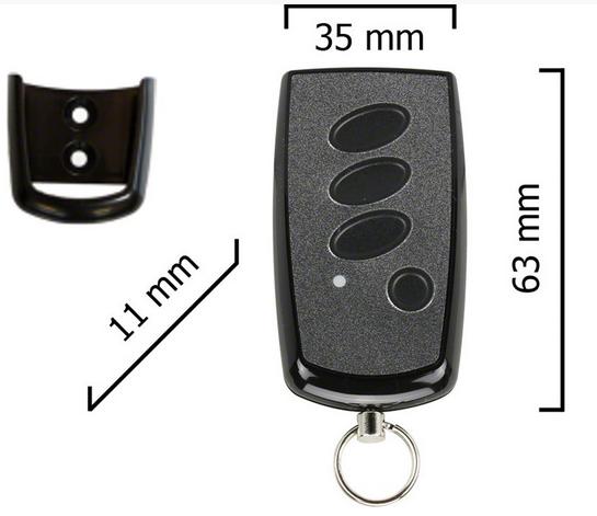 Dickert S8Q-868A15L00 Handsender, Linear-Code, 15-Kanal...