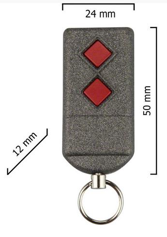 Dickert S5-868A2L00 Handsender, Linear-Code, 2-Kanal 868...